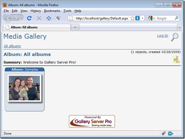 Installing Gallery Server Pro Just Got A Lot Easier – Gallery Server