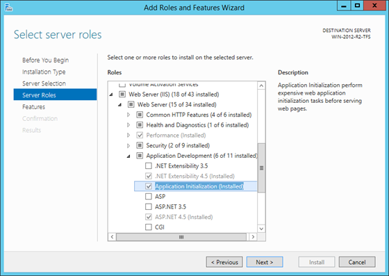 Application Initialization in Windows Server 2012 R2 and higher (IIS 8.5+)
