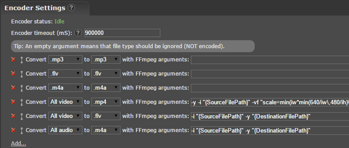 Demystifying the video encoder FFmpeg arguments – Gallery Server